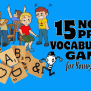 No Prep Esl Vocabulary Games For Young Learners English