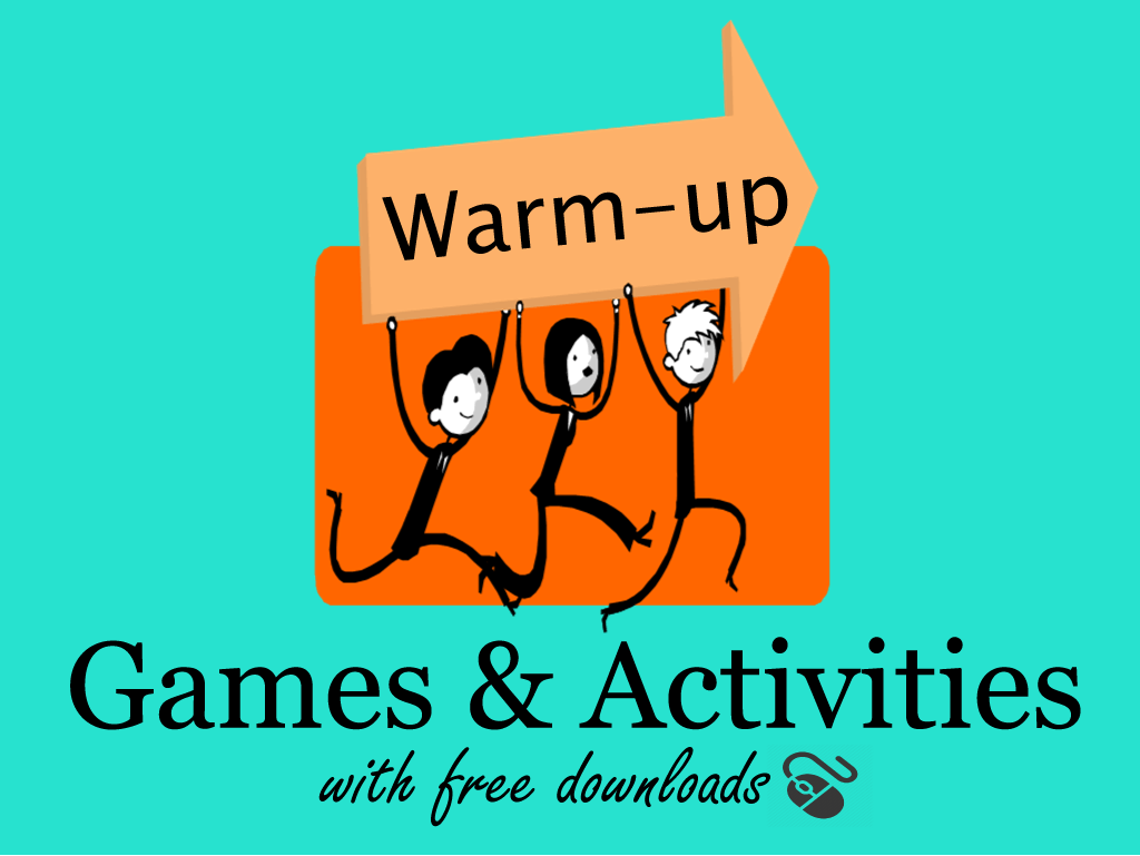 Esl Warm Up Activities