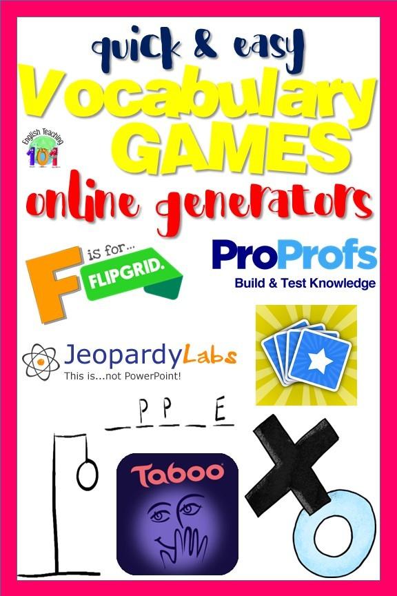 free word games generator online