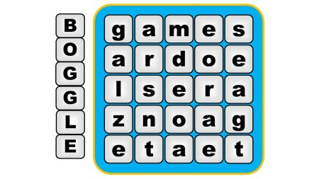 boggle vocabulary game
