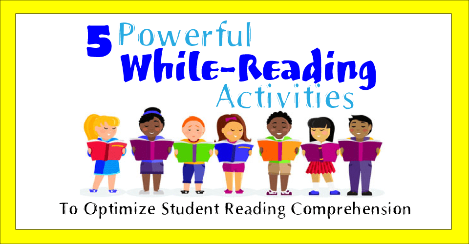 while-reading activities