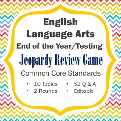 ela end of the year review