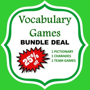 vocabulary games bundle