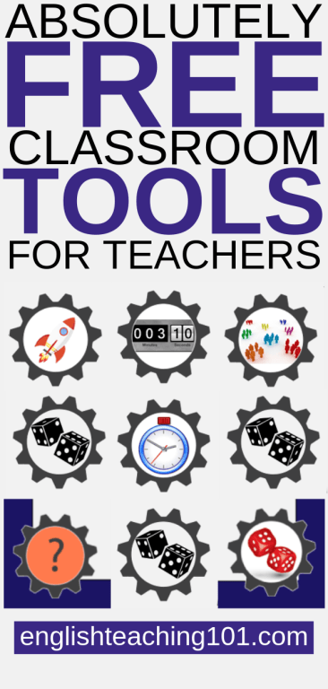 Absolutely Free Classroom Tools for Teachers