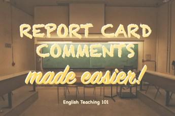 Student Comment Generator Online