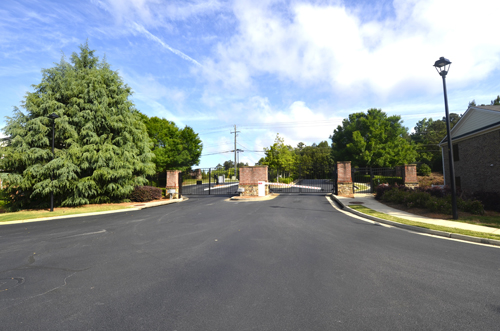 Bellewood  Condominiums Gated Entrance 1