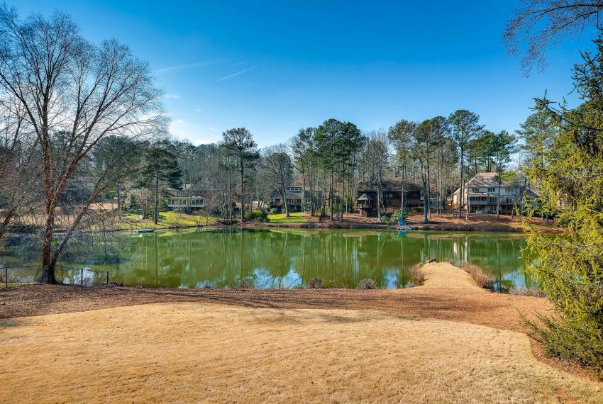 2828 Cravey Dr NE Atlanta GA-large-040-24-Back Yard Lake-1499x1000-72dpi
