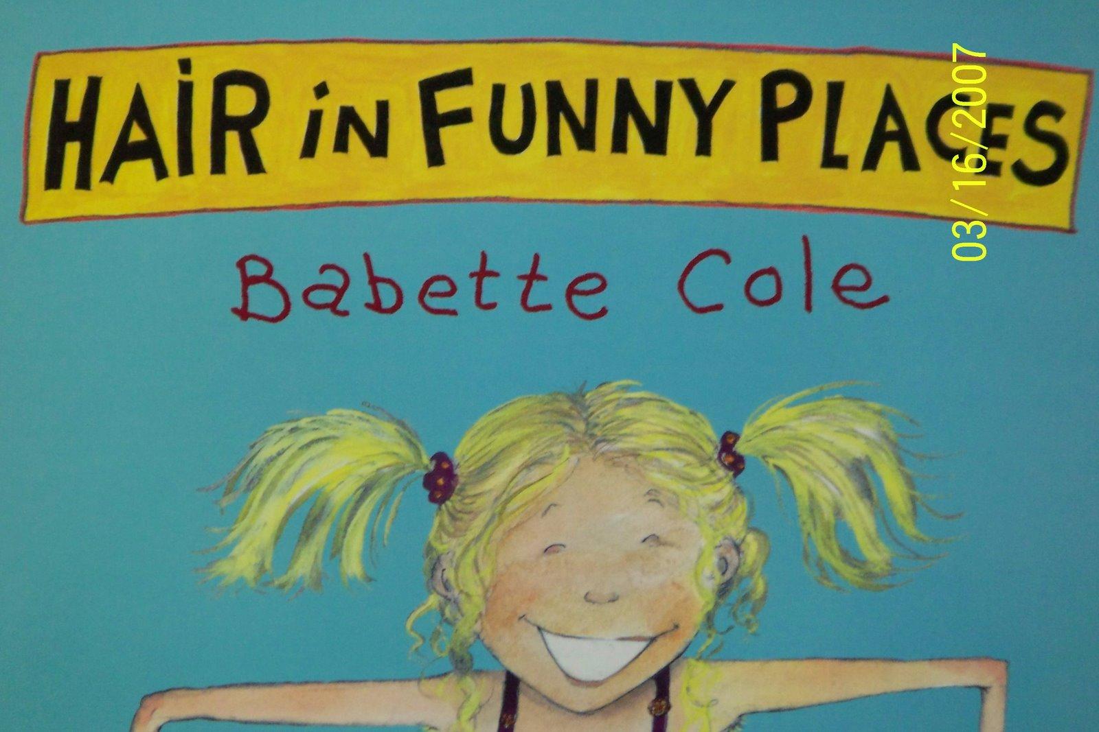 Hair in Funny Places – 奇,奇,奇怪的地方長,長毛啦!   TNUA: English Pleasure Reading Project