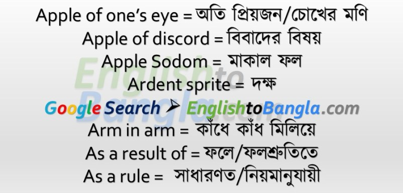 Idioms & Phrases Lesson 12