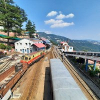 10 trains cancelled on Kalka-Shimla track; Ambika Sharma; Tribune India