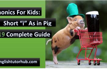 short i as in pig