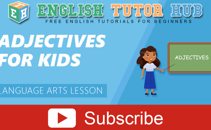 Adjectives for Kids | Language Arts Lesson
