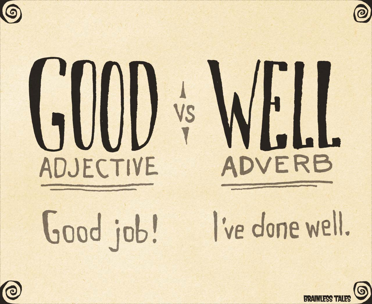 What Is The Difference Between Good And Well