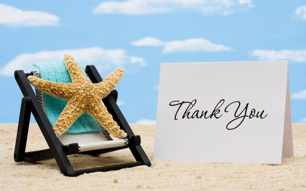 "English Skills : 13 ways of saying ""Thank You""."