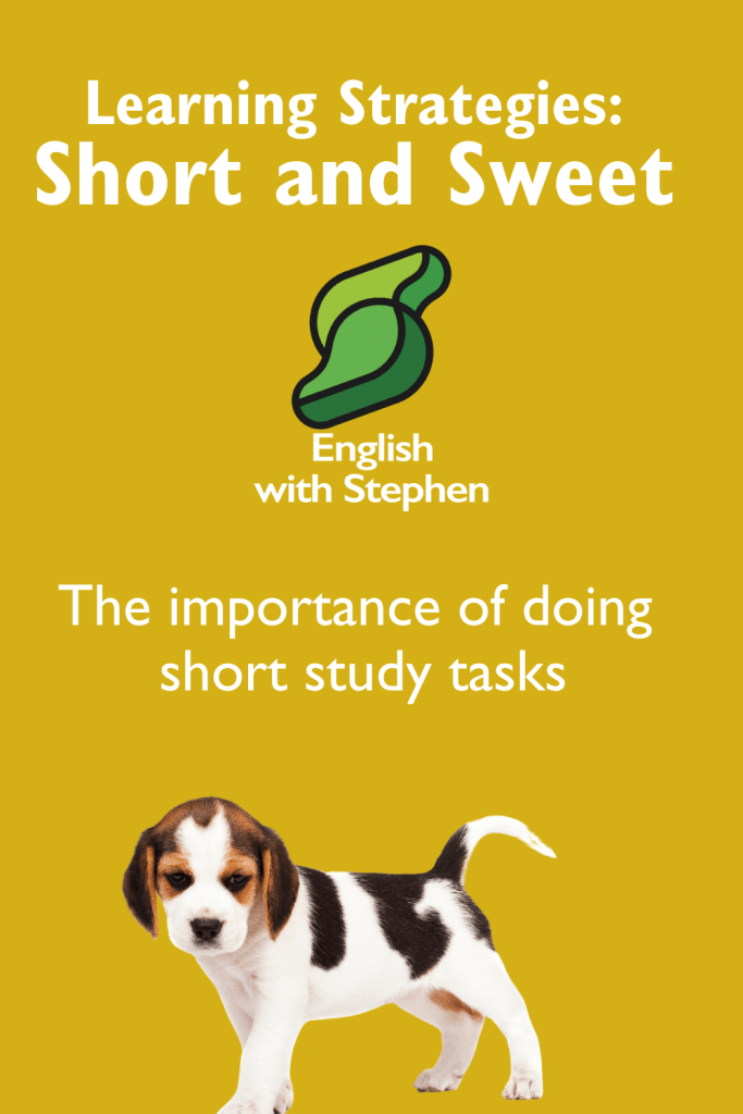 Short and Sweet activities to learn English