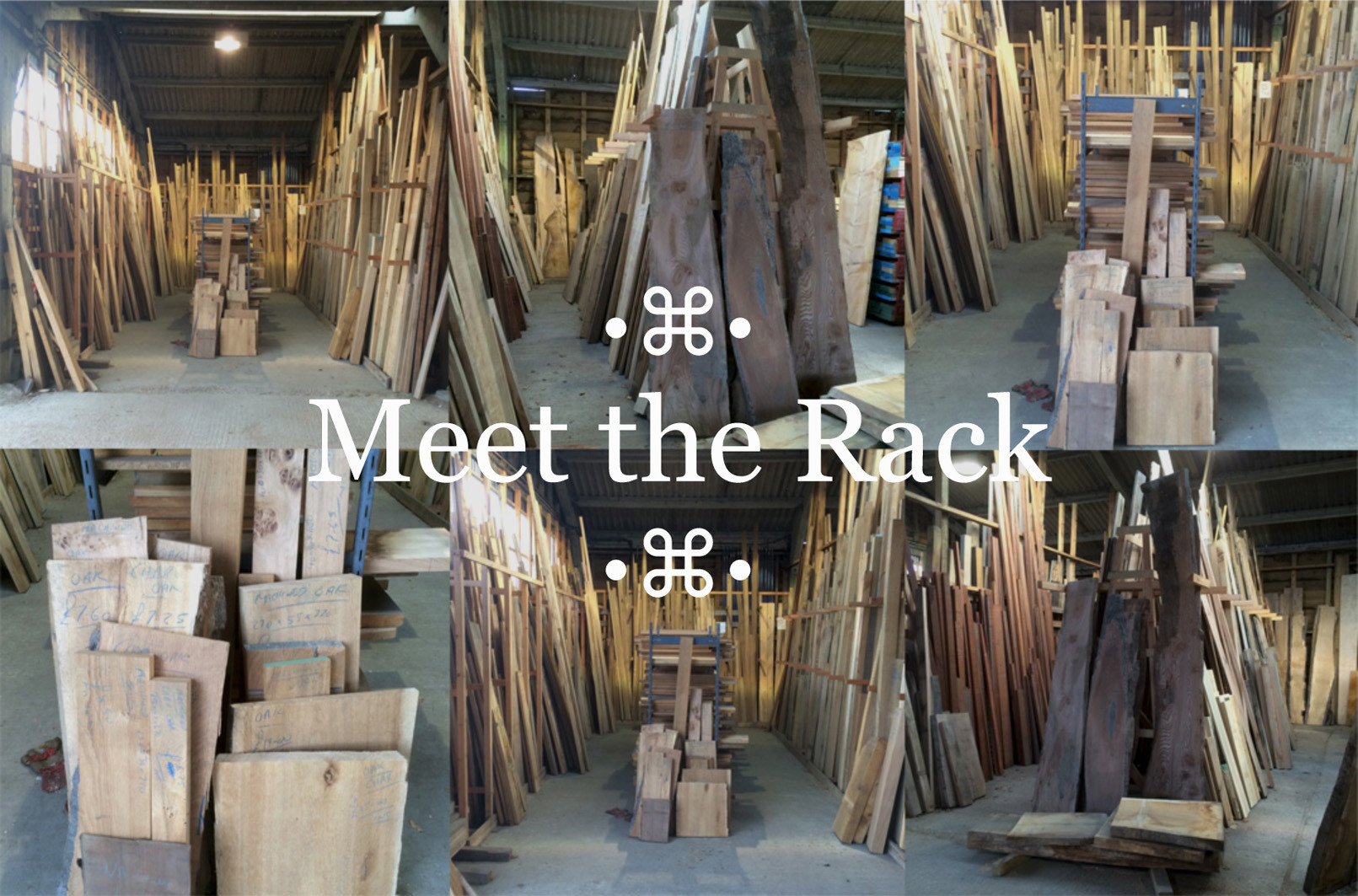 the timber rack at cocking sawmills
