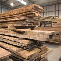kiln dried waney edge oak boards stock at cocking sawmills