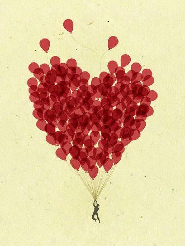 Сърца балони