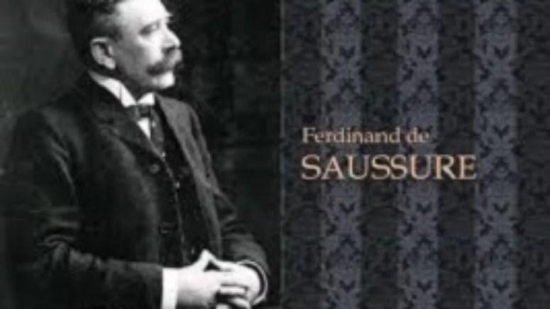 Ferdinand de Saussure (1857-1913),founder of linguistic structuralism -  EngloPedia