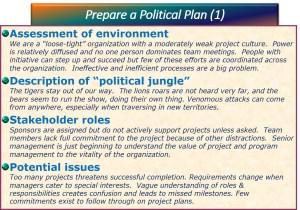 political plan template