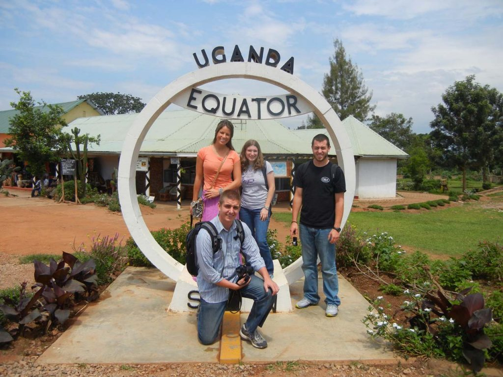 The Equator is a required stop for any Ugandan safari.