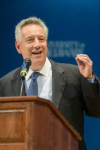 UD President Dennis Assanis