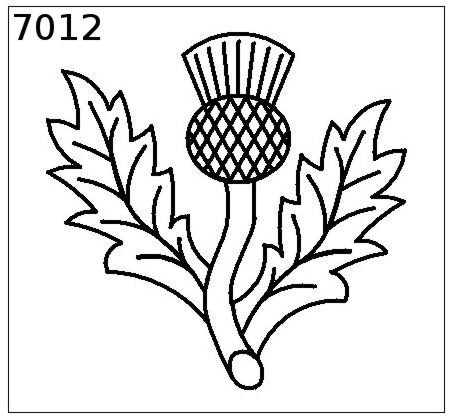 Pin Scottish Thistle Colouring Pages on Pinterest