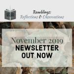 Newsletter – November 2019