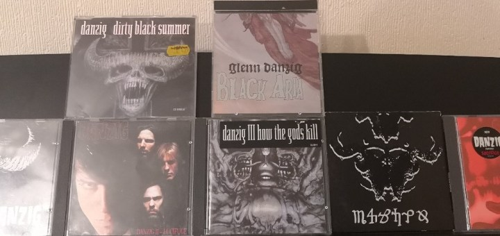 My collection of Danzig Albums