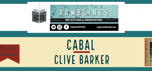 Book Review - Cabal by Clive Barker