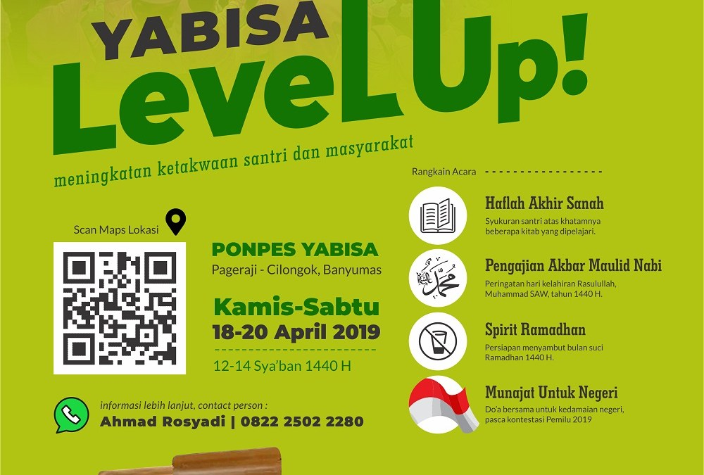 Ayo Dukung Yabisa Level Up!