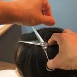 白髪の正しい切り方