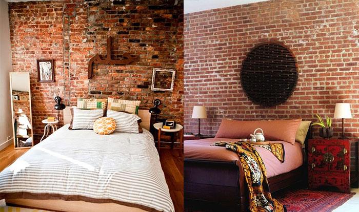 Bedroom Wallpaper Brick 15 Picture  EnhancedHomesorg