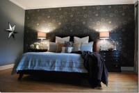 Bedroom Wallpaper Feature Wall 1 Decor Ideas ...