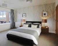 Bedroom Wallpaper Feature Wall 34 Designs