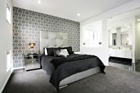 Bedroom Wallpaper Feature Wall 35 Inspiration ...