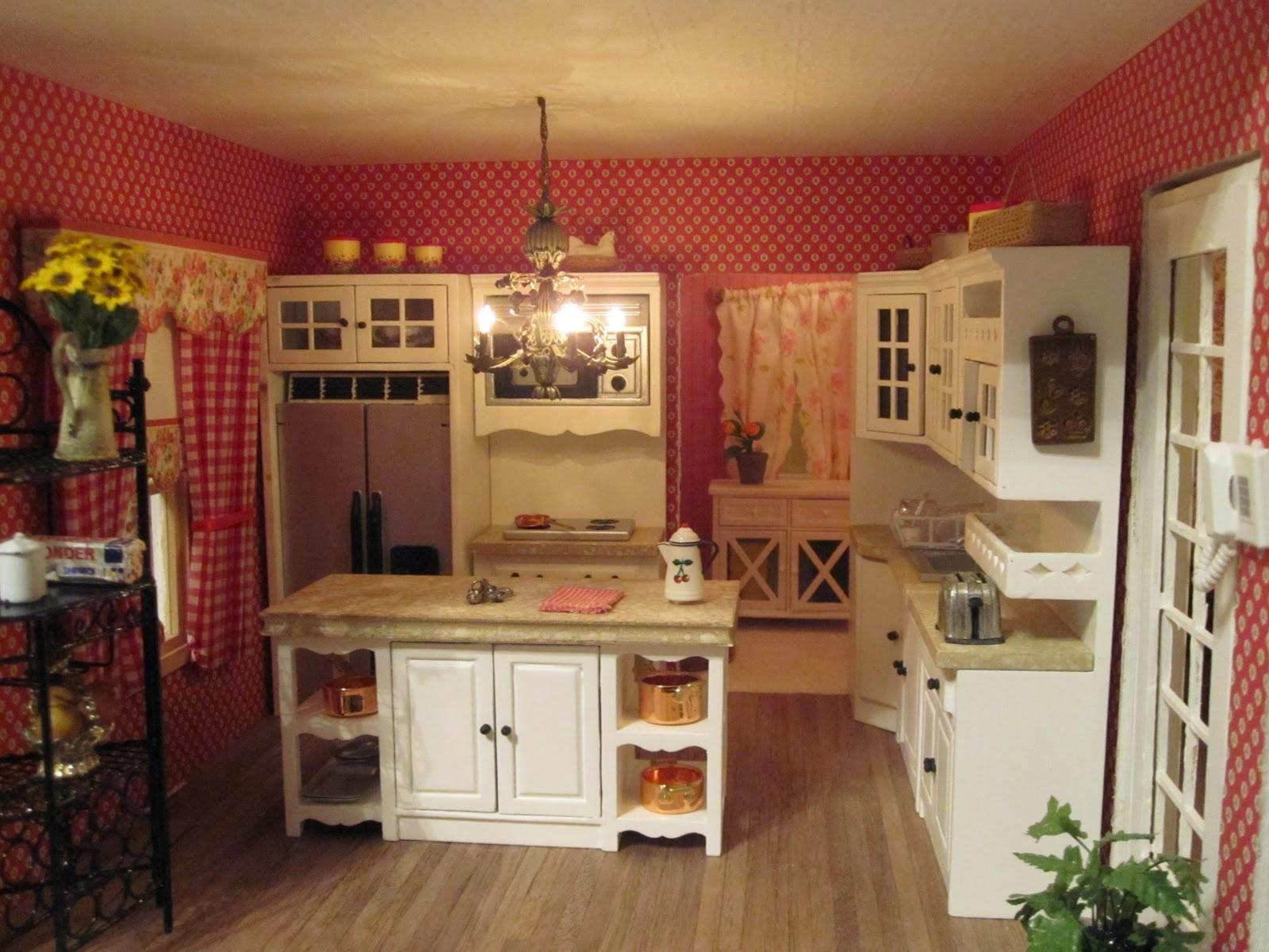 kitchen wallpaper patterns sink drain installation country 7 designs enhancedhomes org