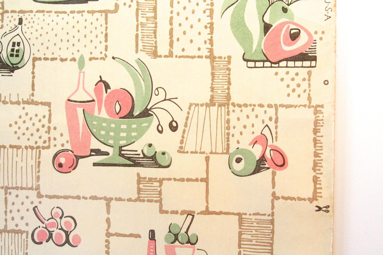 kitchen wallpaper patterns countertops granite 6 decor ideas enhancedhomes org