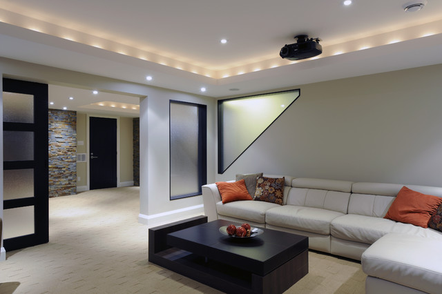 Modern Basements 16 Design Ideas  EnhancedHomesorg
