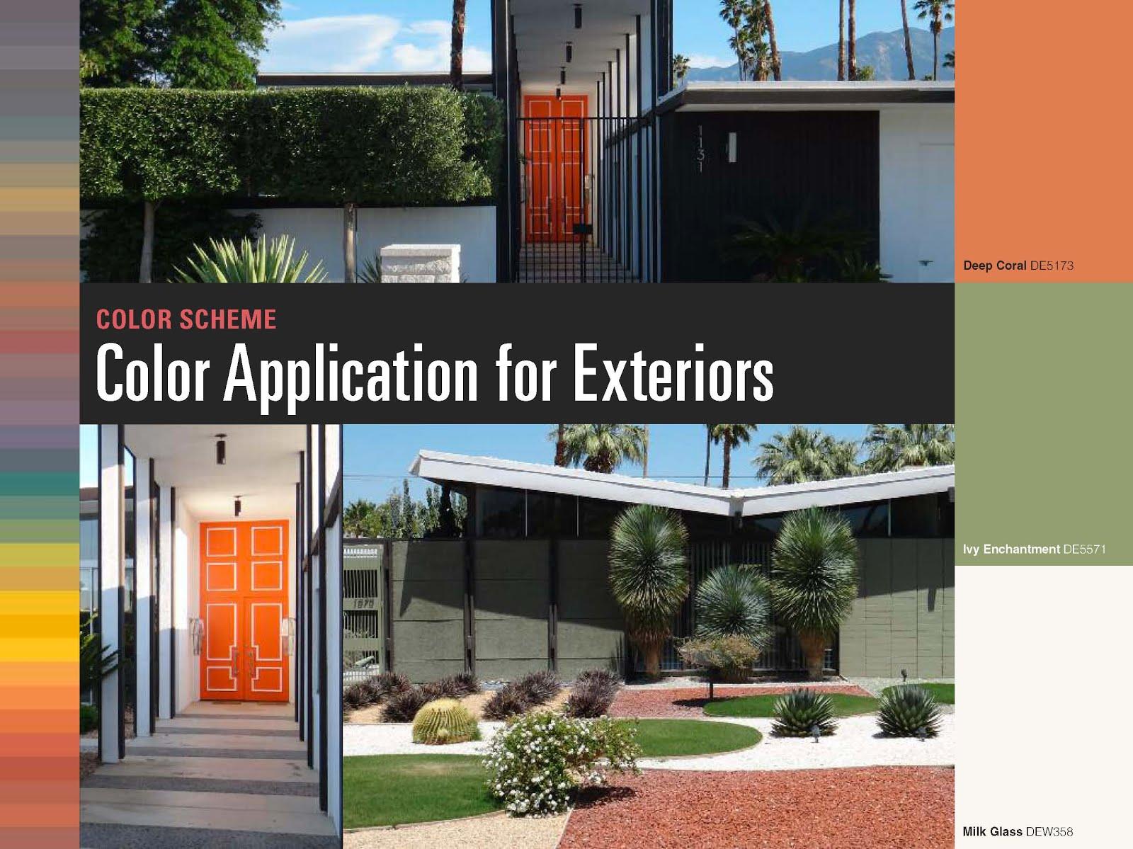 Modern Exterior Paint Colors 2 Ideas