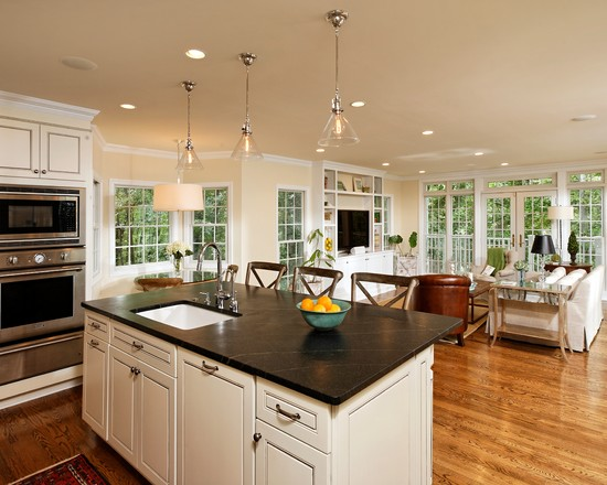 Kitchen And Family Room Ideas