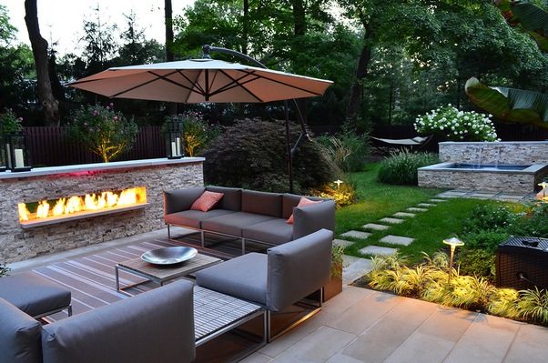 Garden Design Garden Design With Large Backyard Landscaping On