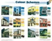 Exterior Wall Paint 2 Design Ideas
