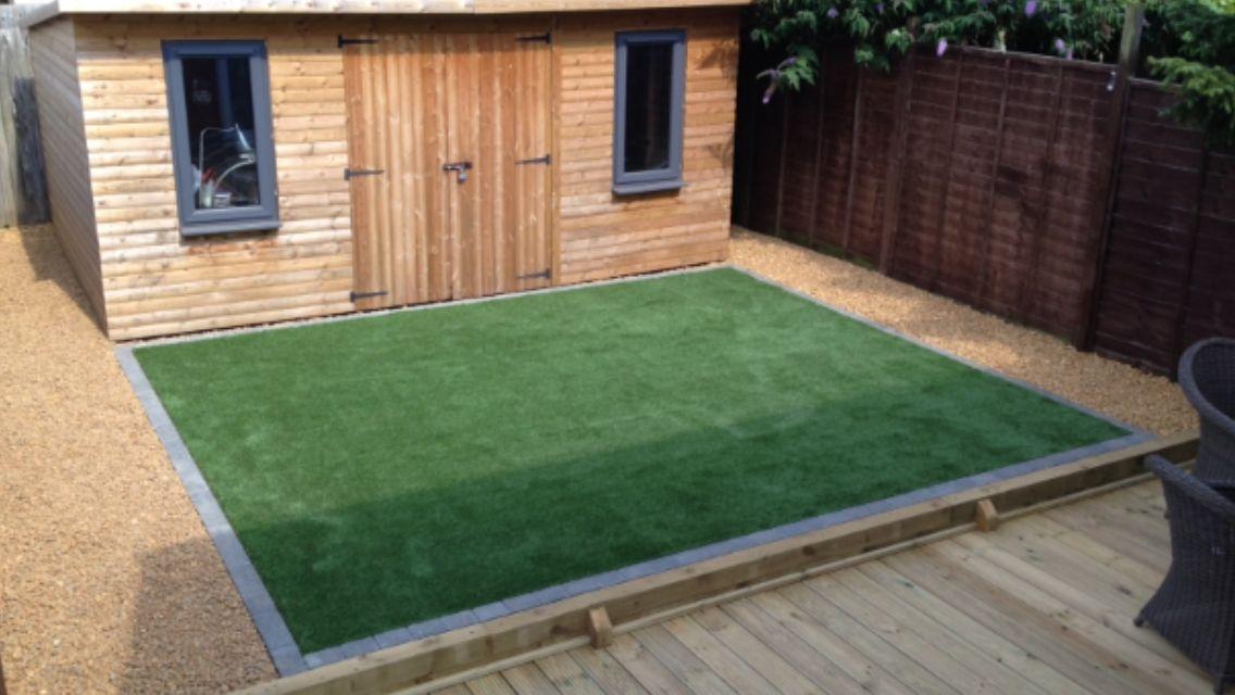 Decking & Astro Full Garden