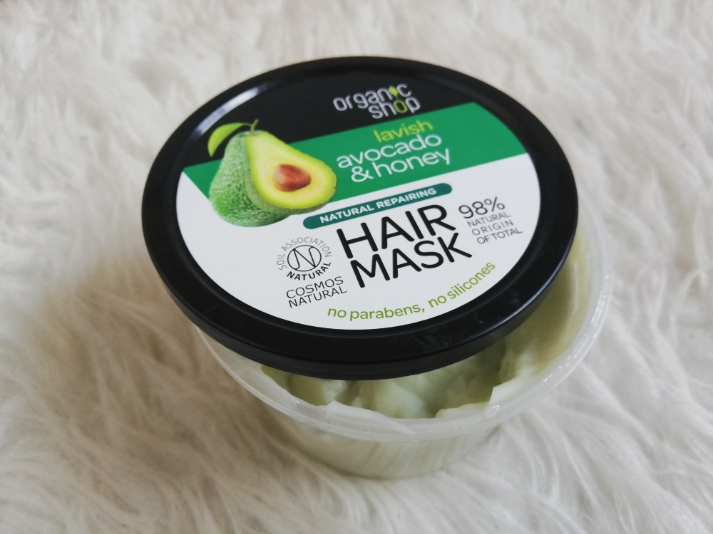 Organic Shop Avocado & Honey Hair Mask