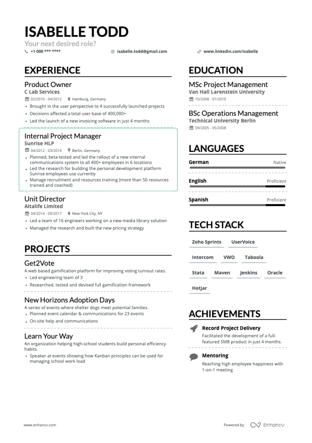 How to Make A Great Resume Outline (Including Examples)