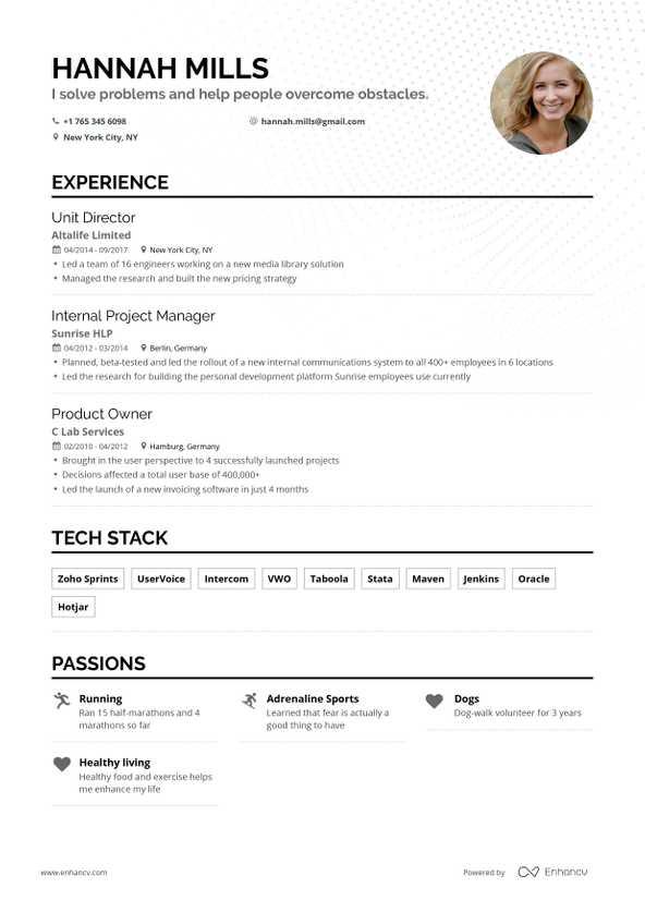 best easy resume builder