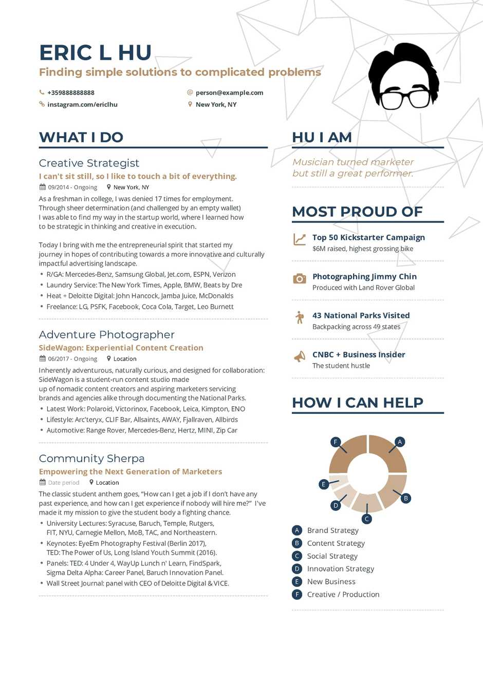 chief marketing officer resume example