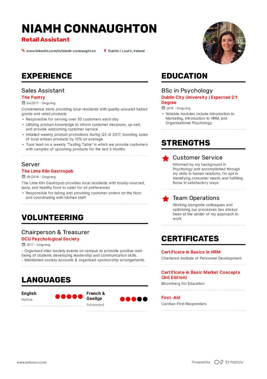 field marketing manager resume sample