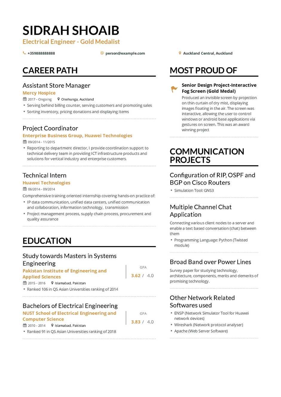 cloud consultant sample resume